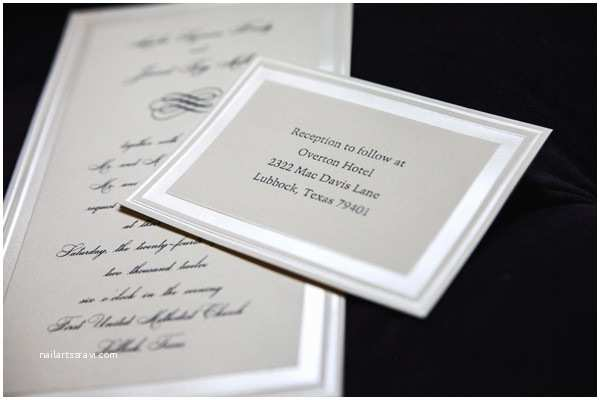 Wedding Invitations El Paso Tx Barque formerly Calligraphy Etc Invitations Lubbock