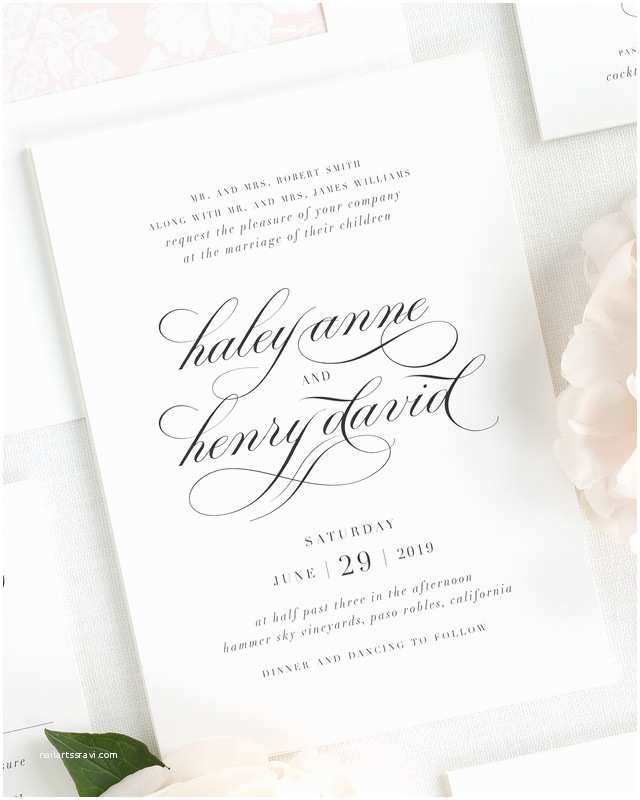 Wedding Invitations El Paso Tx Shine Wedding Invitations Invitations Weddingwire
