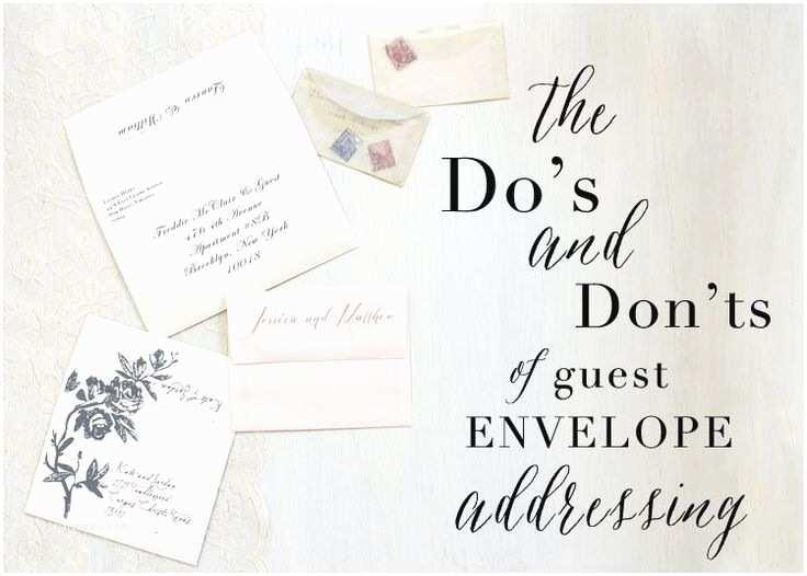 Wedding Invitations Etiquette Addressing Envelopes Best 25 Envelope Addressing Etiquette Ideas On Pinterest