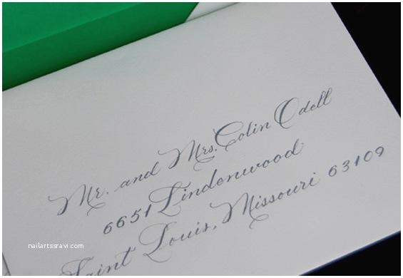 Wedding Invitations Etiquette Addressing Envelopes Proper Etiquette for Addressing Wedding Invitations