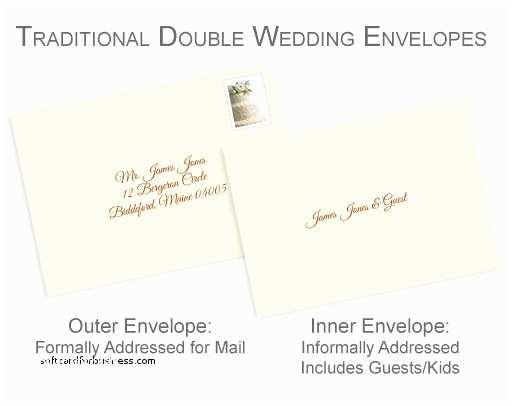 Wedding Invitations Etiquette Addressing Envelopes Wedding Invitation Elegant Addressing Wedding Invitations