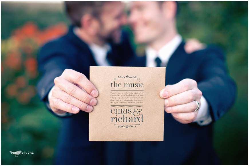 Wedding Invitations For Gay Couples Bodas S Y