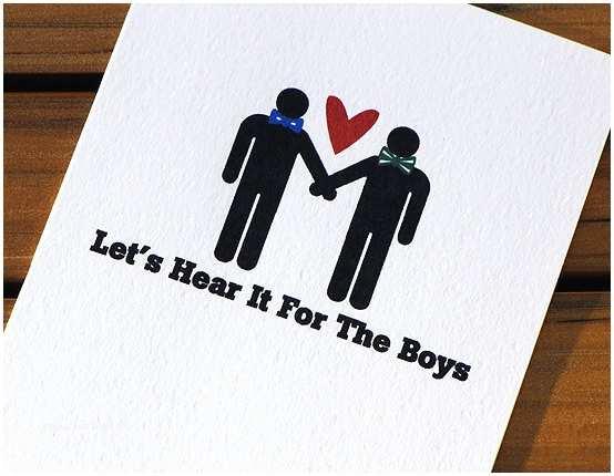 Wedding Invitations For Gay Couples Gay Wedding