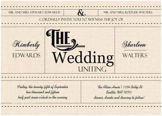 Wedding Invitations for Gay Couples Gay Wedding Invitation Wording Naked Celebs Caught