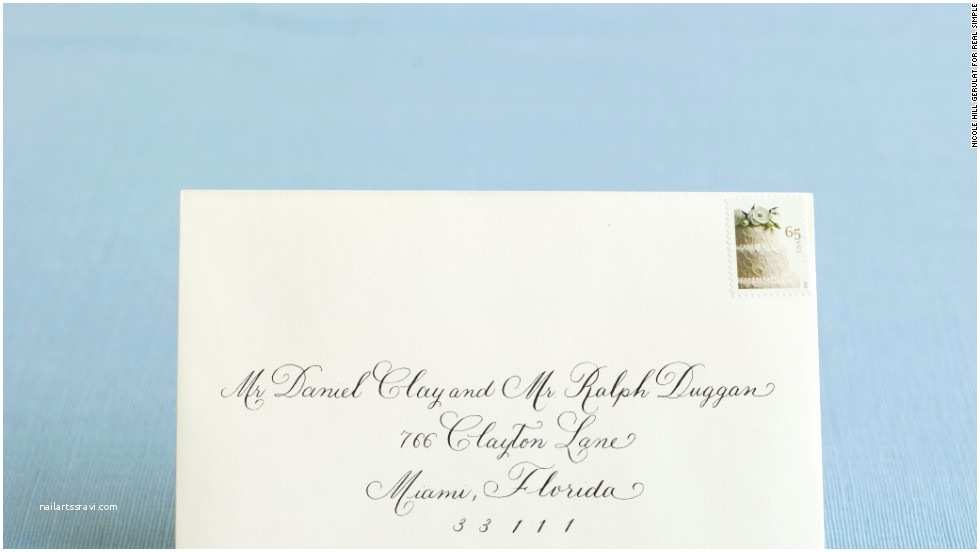 Wedding Invitations For Gay Couples How To Address Wedding Invitations