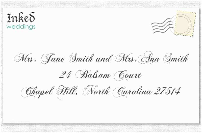 Wedding Invitations for Gay Couples Wedding Invitation to A Married Same Couple Same Name