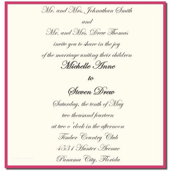 Wedding Invitations for Less Than A Dollar 25 Best Ideas About formal Wedding Invitation Wording On