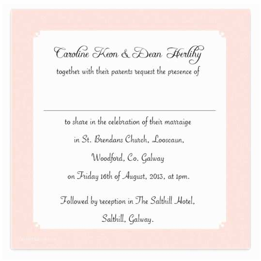 Wedding Invitations for Less Than A Dollar Quirky & Pink Flat Wedding Invite Loving Invitations