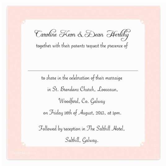 Wedding Invitations for Less Than A Dollar Quirky & Pink Flat Wedding Invite Loving Invitations