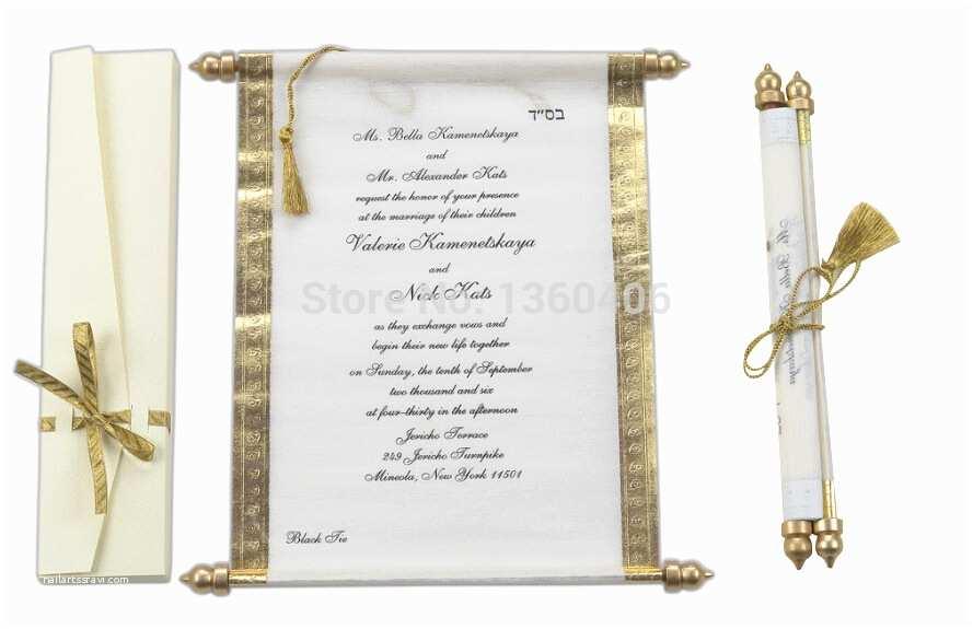Wedding Invitations for Less Than A Dollar Scroll Wedding Invitations Card wholesale Party Wedding