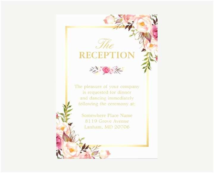 Wedding Invitations for Under $1 16 New Wedding Reception Invitation Templates Editable
