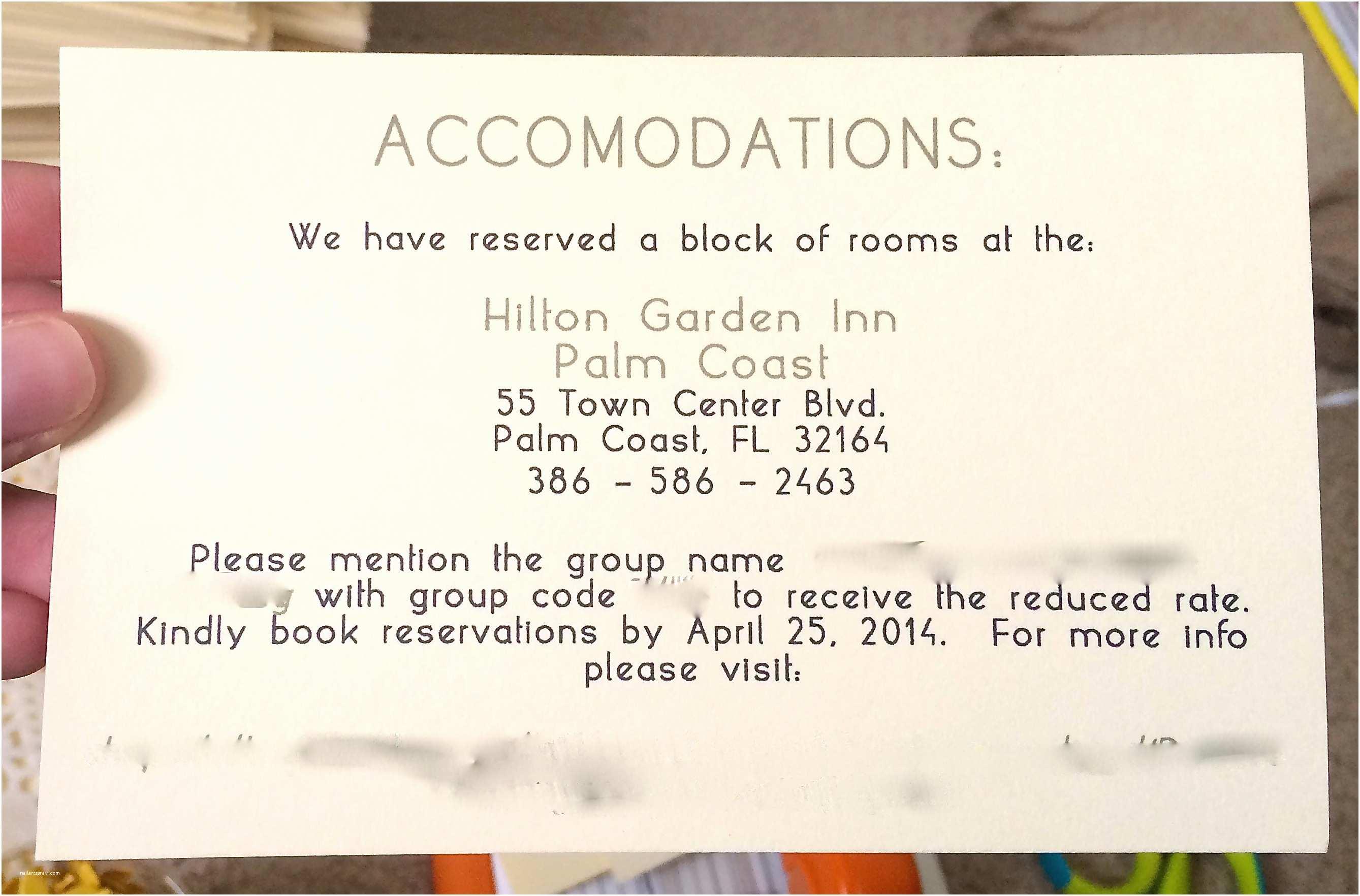 Wedding Invitations Hotel Accommodation Cards Wedding Invitation Wording Hotel Ac Modations Fresh