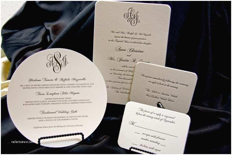 Wedding Invitations Houston Letterpress Wedding Invitations Houston