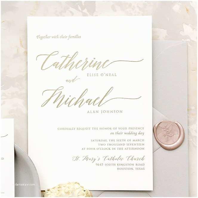 wedding invitation design houston