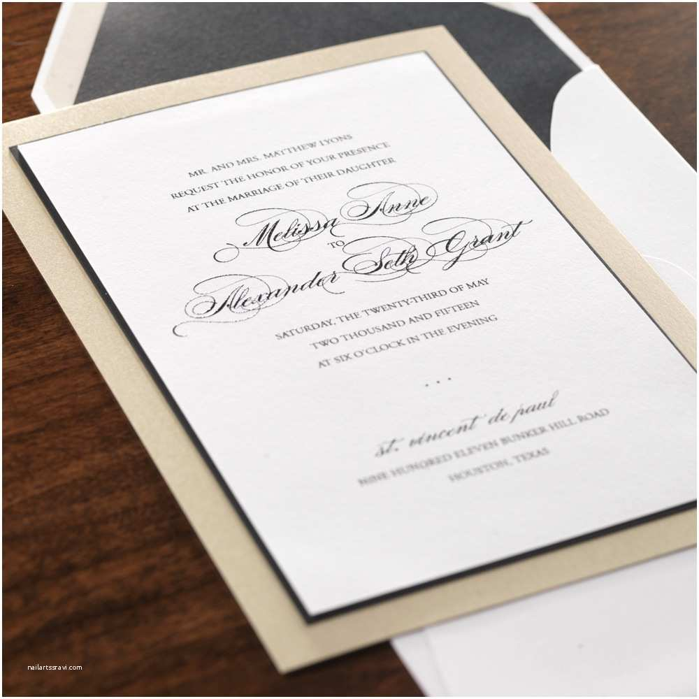 Wedding Invitations Houston Wedding Invitations Houston Elegant Custom Invitations