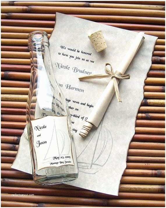 Wedding Invitations In A Bottle 25 Best Ideas About Wedding Invitation Message On
