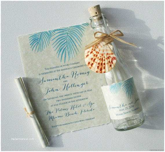 Wedding Invitations In A Bottle Bottle Wedding Invitations Bottle From Mospensstudio On Etsy