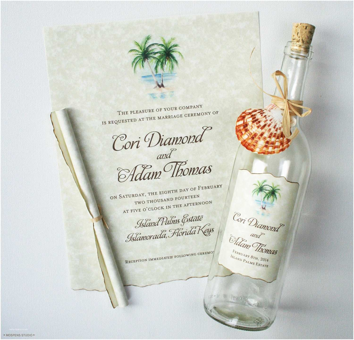 Wedding Invitations In A Bottle Message In A Bottle Invitations Bottle Wedding by