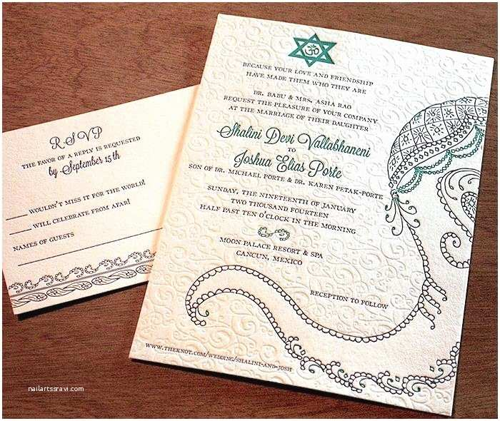 Wedding Invitations In Hebrew and English Jewish Wedding Invitations and Full Size and Ecru