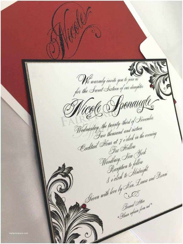 Wedding Invitations In Long island Fairy Tale Affairs Wedding Invitations event