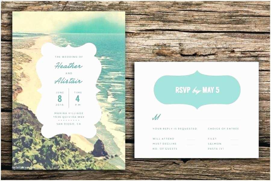 Invitations In Long Island Tropical  Invitations Beach Destination