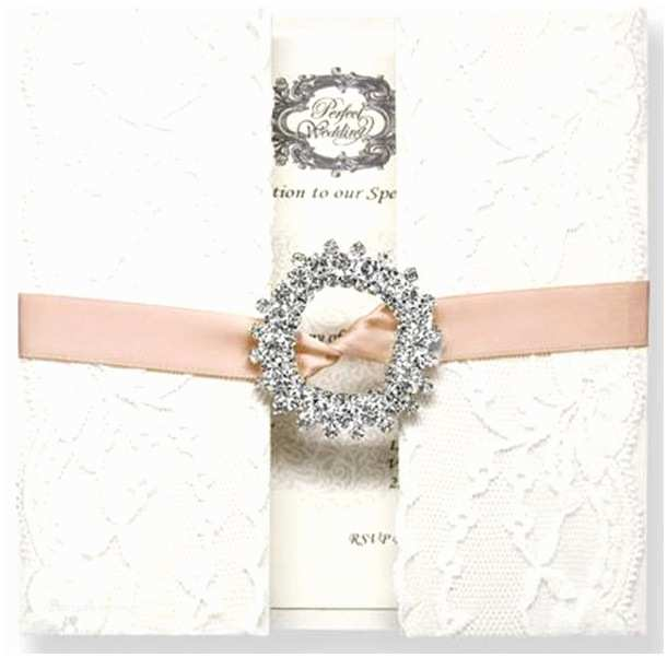 Wedding Invitations Lace Lace Wedding Invitations Best Choice for Vintage and
