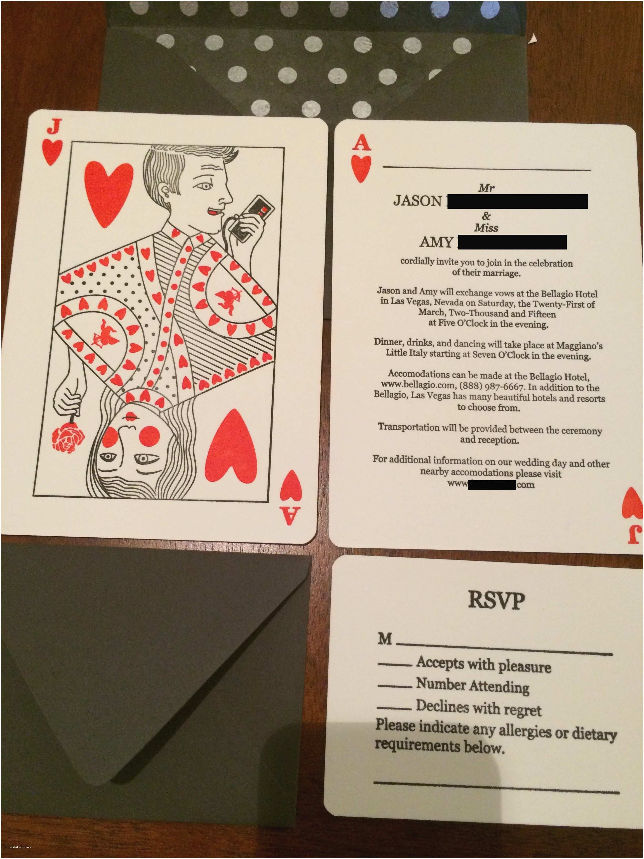 Wedding Invitations Las Vegas Nv top Las Vegas Wedding Invitations