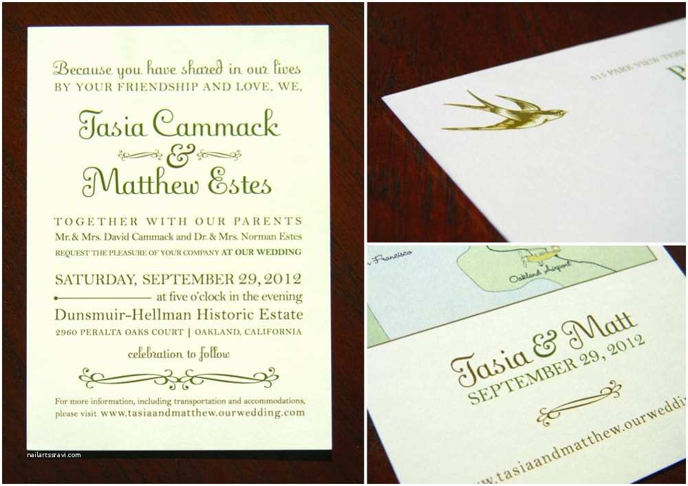 Wedding Invitations Las Vegas Nv Type Driven Earth tone Wedding Invitation Suite On Ivory