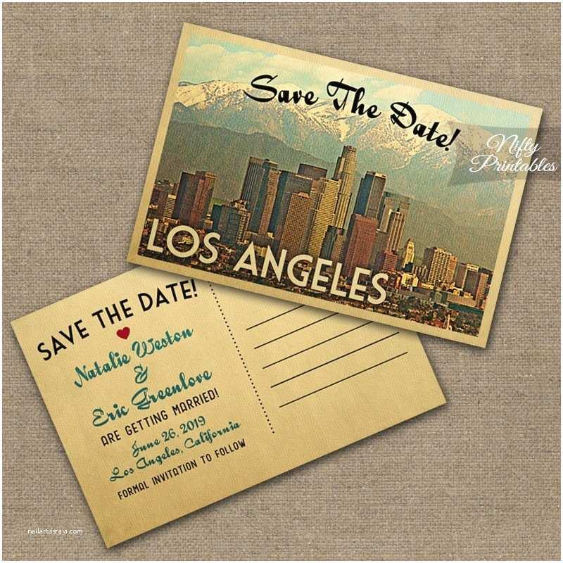 Wedding Invitations Los Angeles Los Angeles Wedding Invitations Vtw Nifty Printables