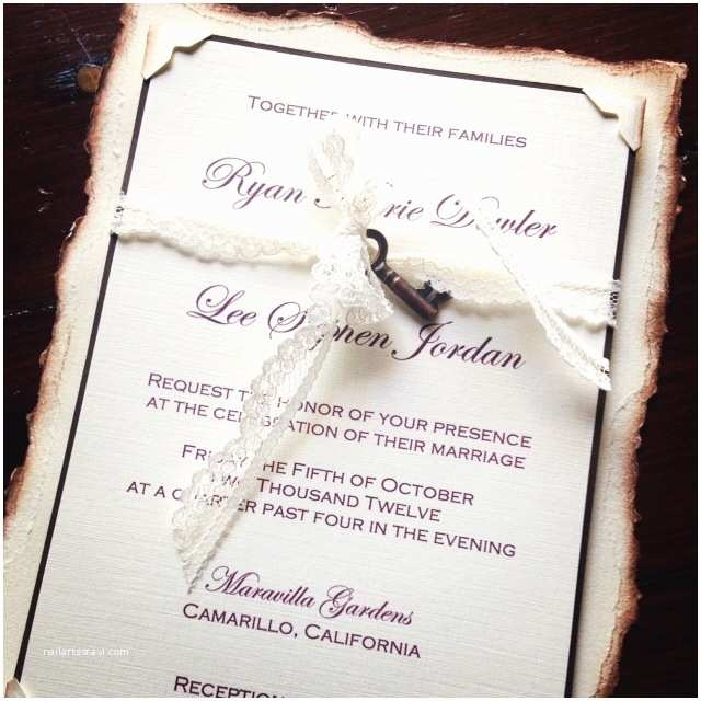Wedding Invitations Los Angeles Wedding Invitations