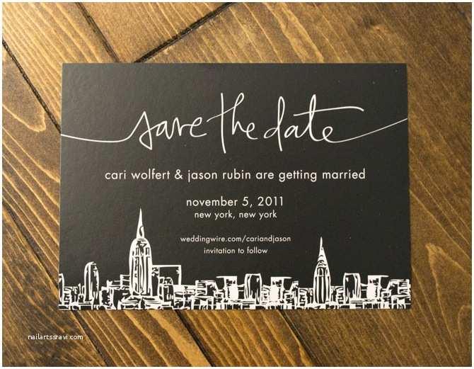 Wedding Invitations Nyc Cari & Jason Wedding Alread Designs
