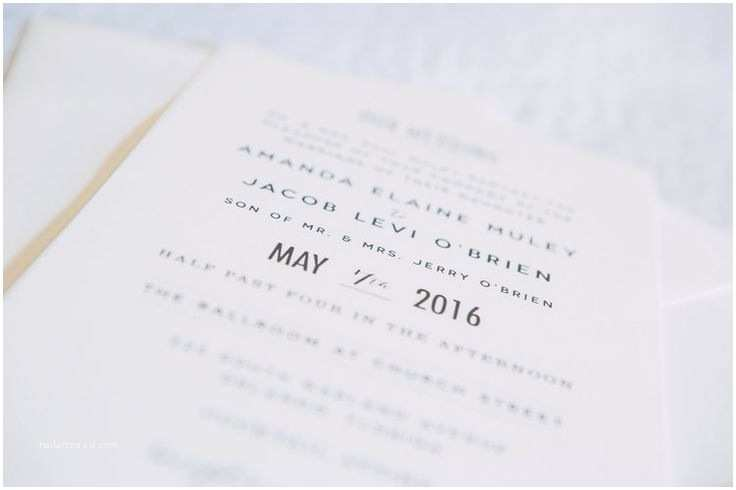 Wedding Invitations orlando Fl 25 Best Ideas About Simple Wedding Invitations On