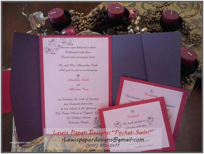 Wedding Invitations orlando Fl Lewis Paper Designs Llc Invitations orlando Fl