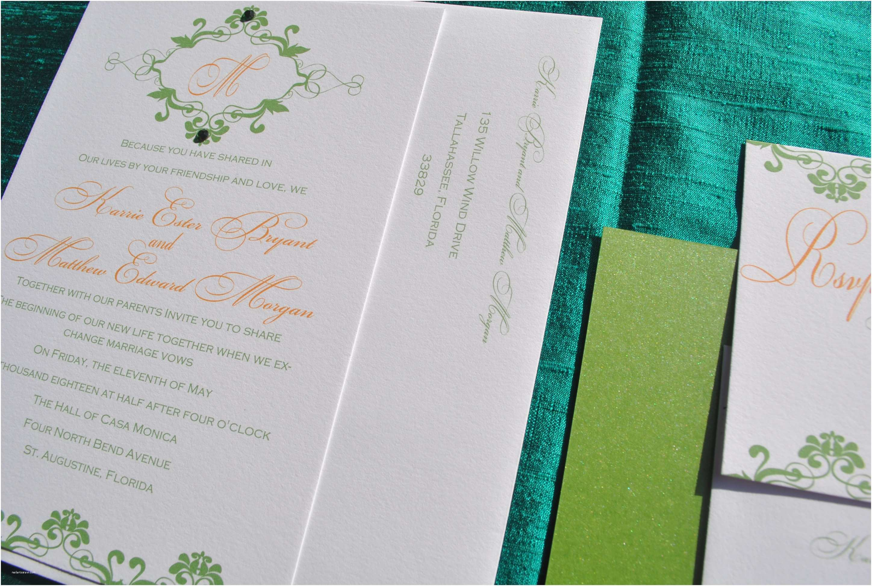 Wedding Invitations orlando Fl Pretty Peacock Paperie & Pretty Peacock Planning