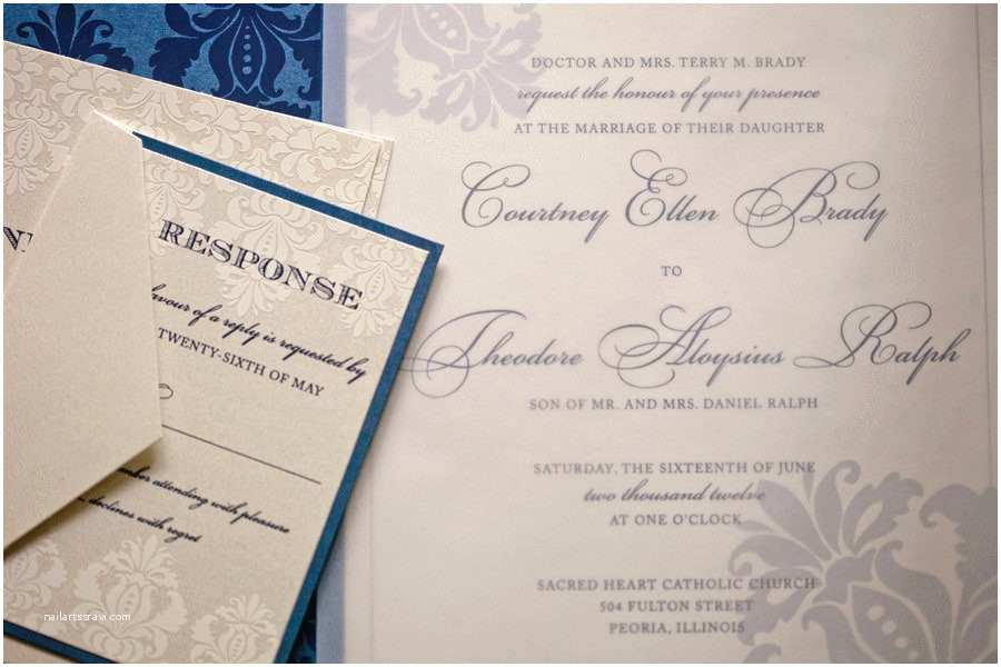 Wedding Invitations Peoria Il Country Club Of Peoria Wedding From Jeffrey and Julia Woods