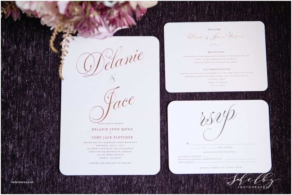 Wedding Invitations Peoria Il Jace Delanie Warehouse State Wedding Peoria Il Weddi and