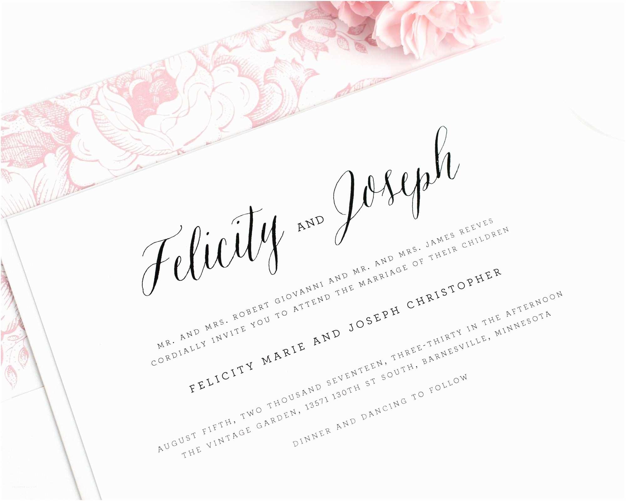 Wedding Invitations Rochester Ny Wedding Invitations Rochester Ny Fresh Timeless Script