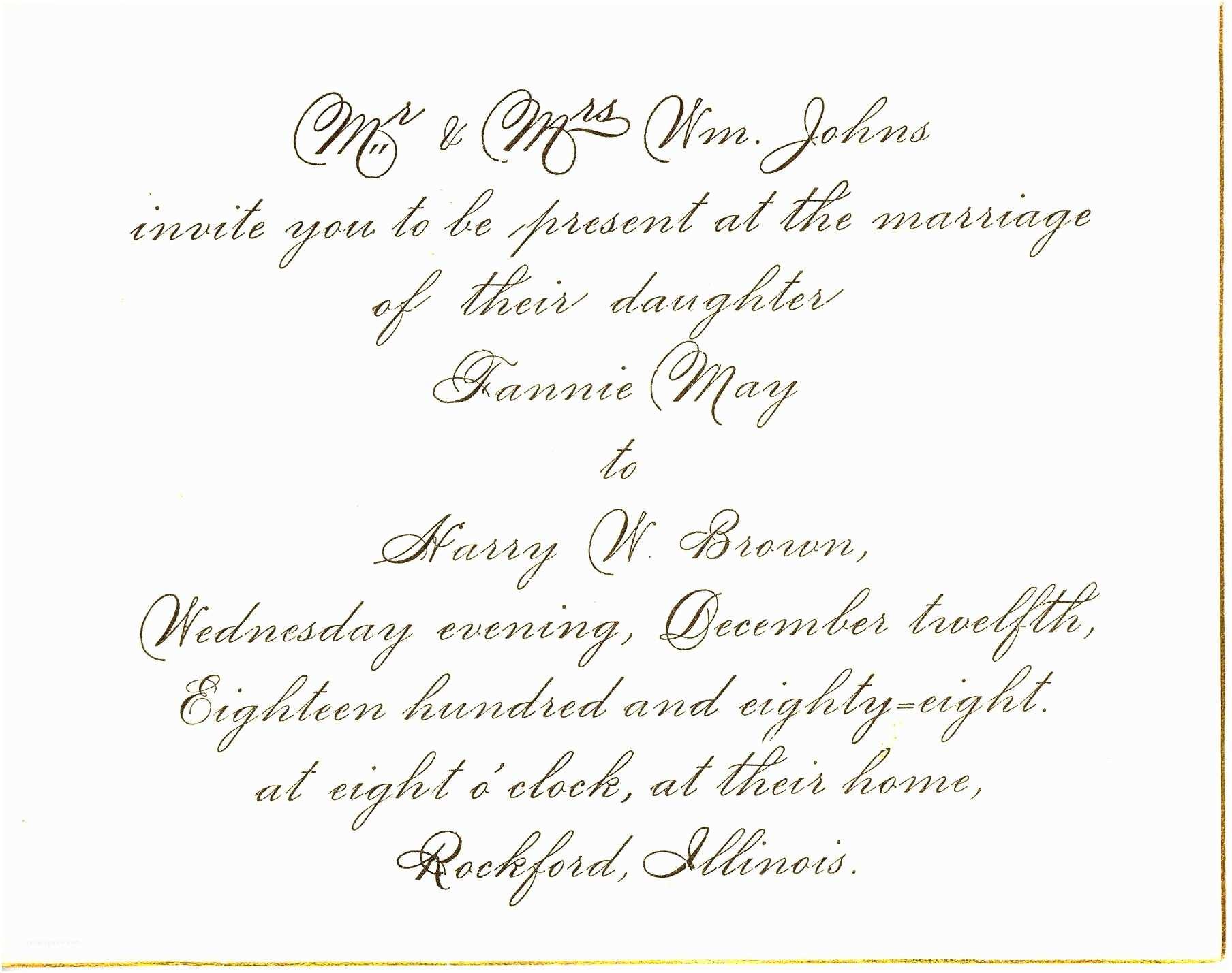 Wedding Invitations Samples Wedding Invitation Wording Marriage Anniversary