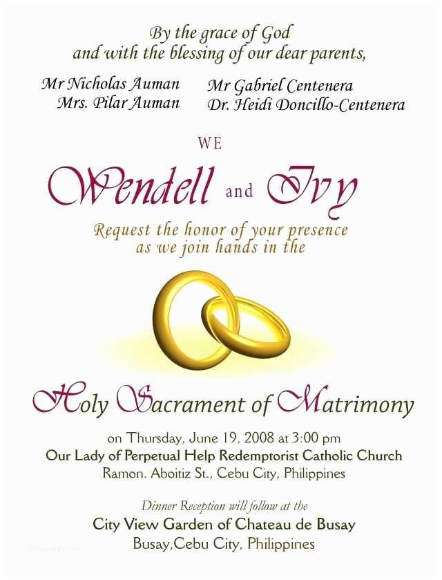 Wedding Invitations Samples Wedding Invitations Wording Samples