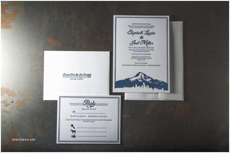 Wedding Invitations Seattle Seattle – Pike Street Press