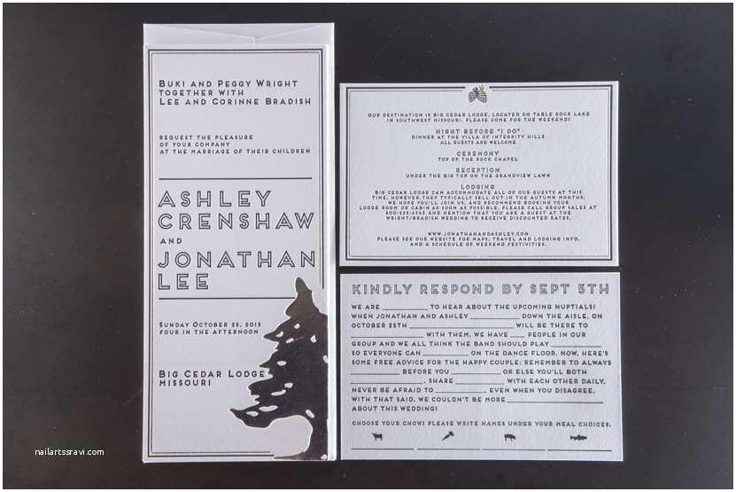Wedding Invitations Seattle Wright Invitations – Pike Street Press