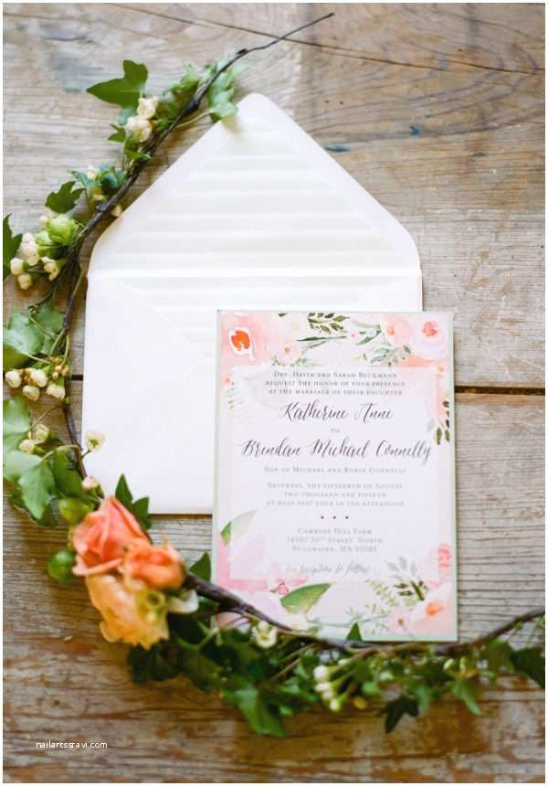 Wedding Invitations Stillwater Mn Ireland Inspired Green Garden Wedding Style Me Pretty