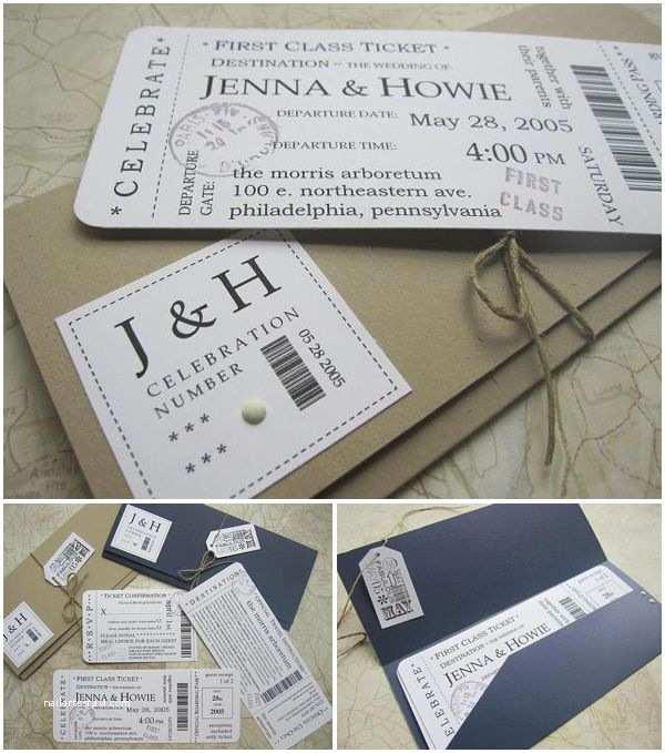 Wedding Invitations that Look Like Tickets Boarding Pass Invitation On Pinterest