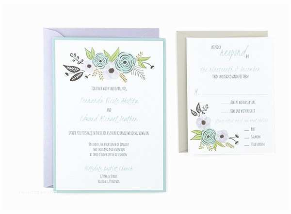 Wedding Invitations to Print at Home for Free Algodon Free Wedding Invitation Template