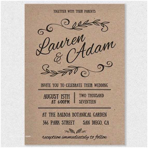 Wedding Invitations to Print at Home for Free Best 25 Wedding Invitation Templates Ideas On Pinterest