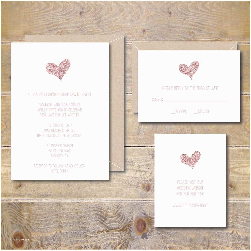 Wedding Invitations To Print At Home For Free Printable Wedding Invitation Diy Wedding Invitation