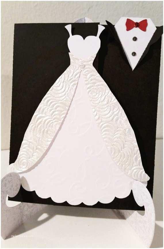 Wedding Invitations Tuxedo Bride & Groom Wedding Invitation Engagement Mr and