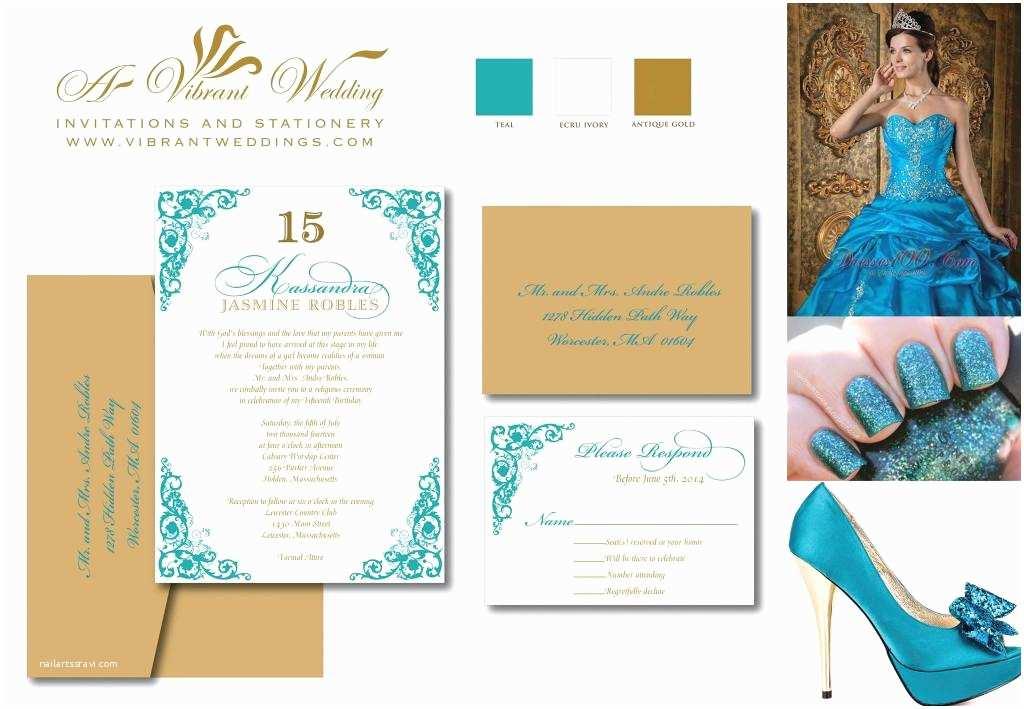 Wedding Invitations Under $1 Quinceanera Invites