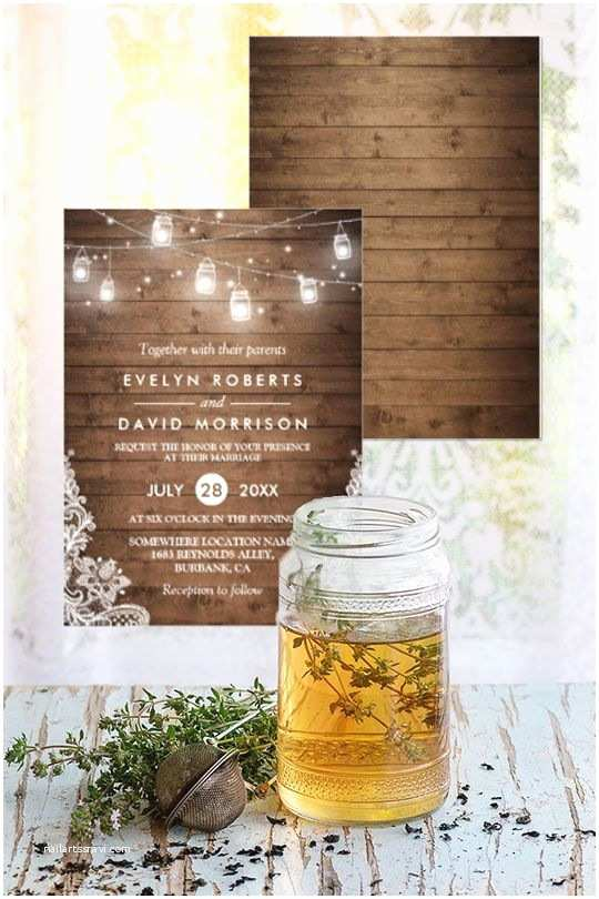 Wedding Invitations Under 50 Cents Each 403 Best Mason Jar Wedding Ideas Images On Pinterest