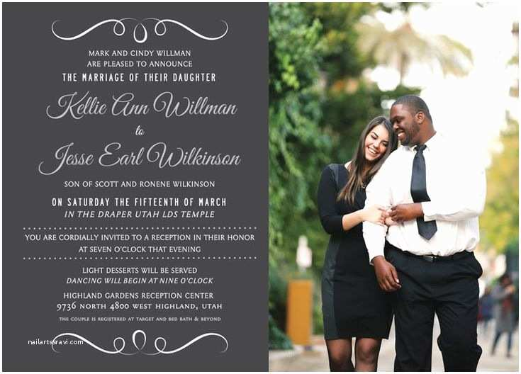Wedding Invitations Utah 136 Best Images About Lds Wedding Invitations On Pinterest